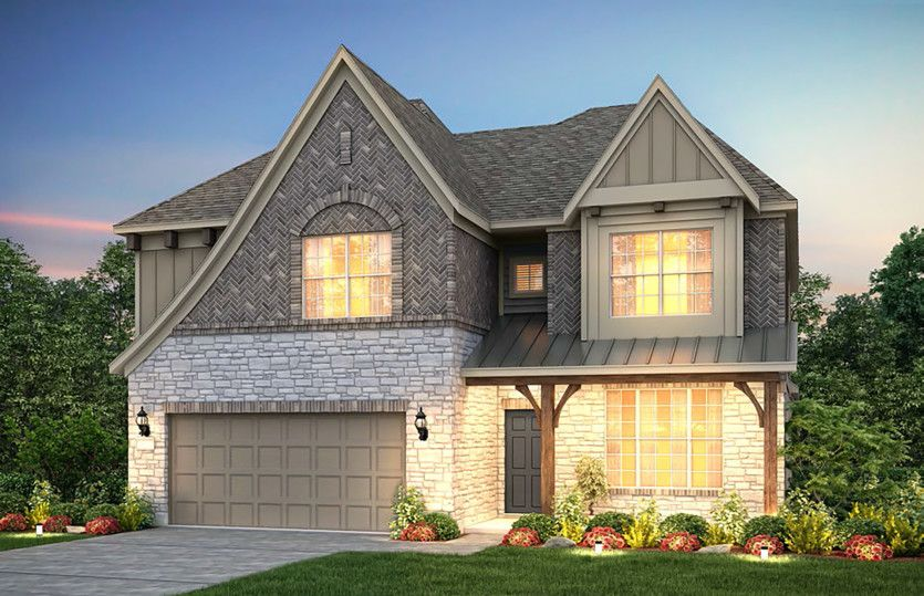 Exterior featured in the Caldwell By Pulte Homes in San Antonio, TX