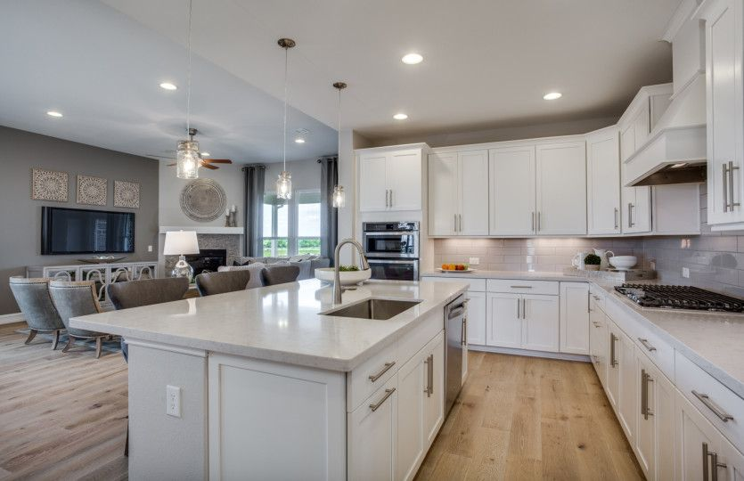 Kitchen featured in the Lexington By Pulte Homes in San Antonio, TX