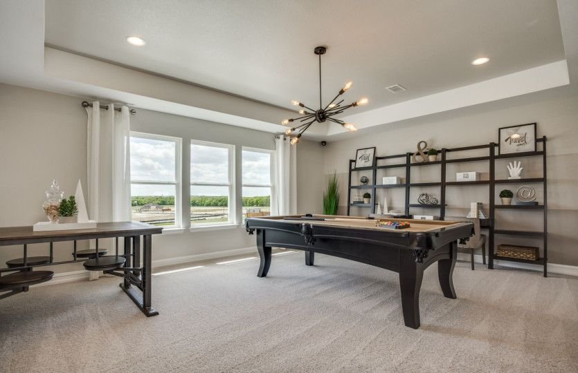 Living Area featured in the Lexington By Pulte Homes in San Antonio, TX
