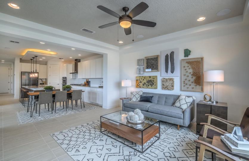 Living Area featured in the Saguaro By Pulte Homes in Santa Fe, NM