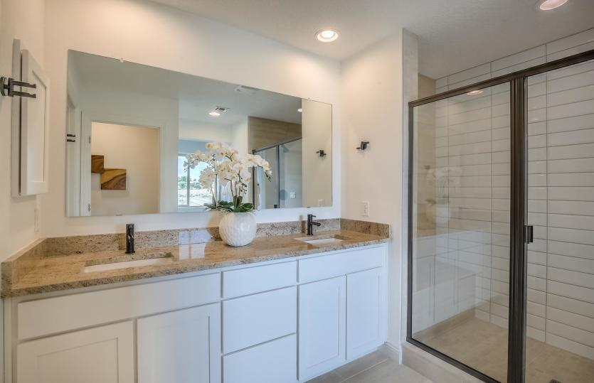 Bathroom featured in the Saguaro By Pulte Homes in Santa Fe, NM