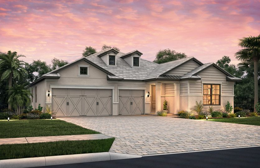 Exterior featured in the Creekview By Pulte Homes in Naples, FL