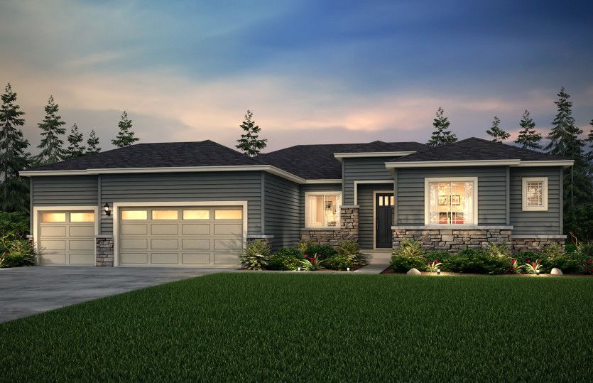 Exterior featured in the Endeavor By Pulte Homes in Seattle-Bellevue, WA