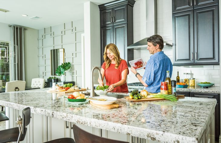 Optional Gourmet Kitchens