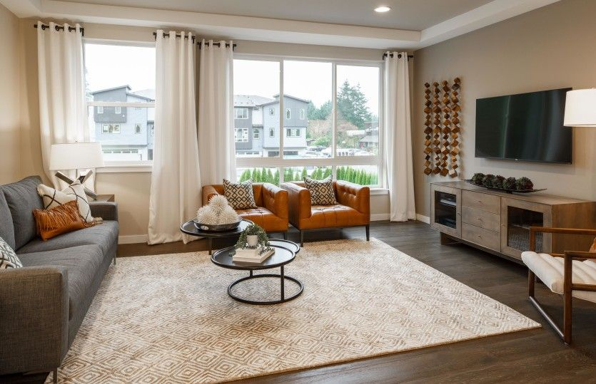 Living Area featured in the Residence I By Pulte Homes in Seattle-Bellevue, WA