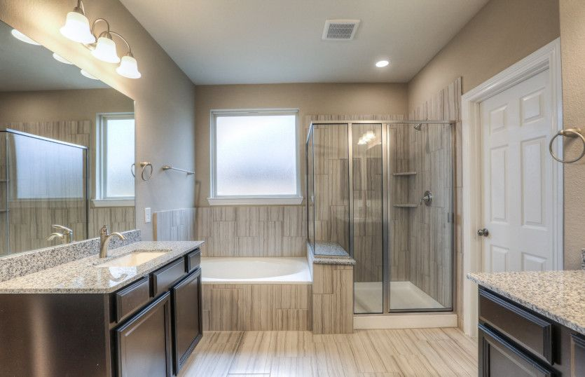 Bathroom featured in the Riverdale By Pulte Homes in San Antonio, TX