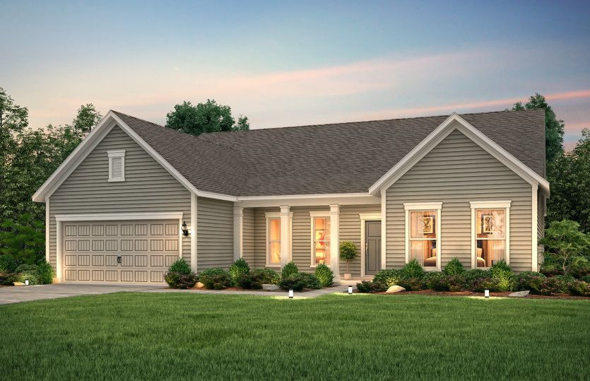 Exterior featured in the Tangerly Oak By Pulte Homes in Wilmington, NC