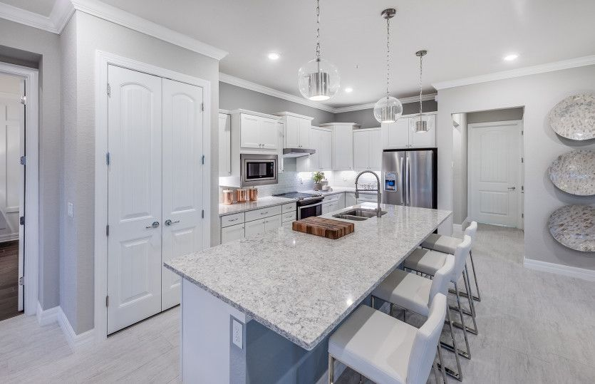 Kitchen featured in the Pompano By Pulte Homes in Palm Beach County, FL