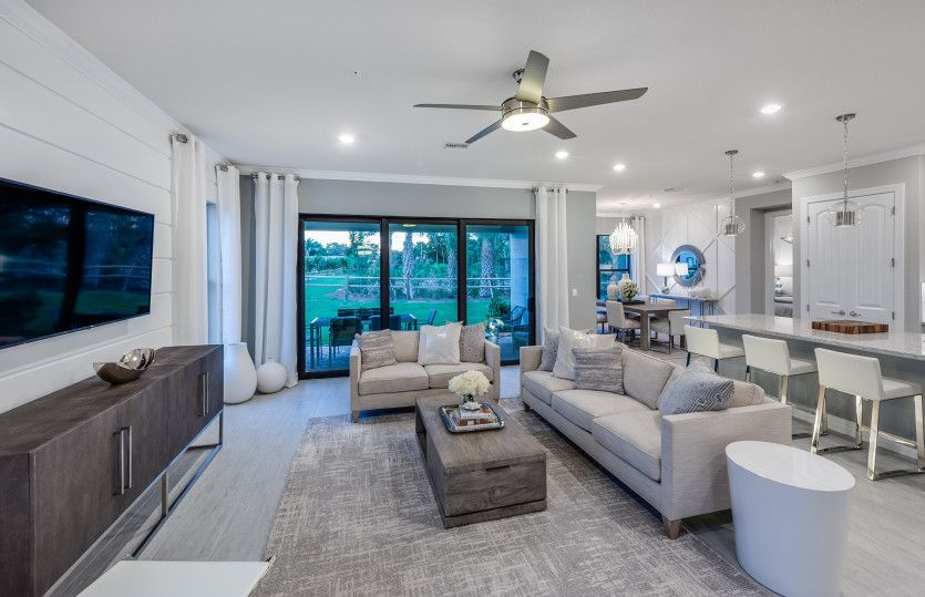 Living Area featured in the Pompano By Pulte Homes in Palm Beach County, FL