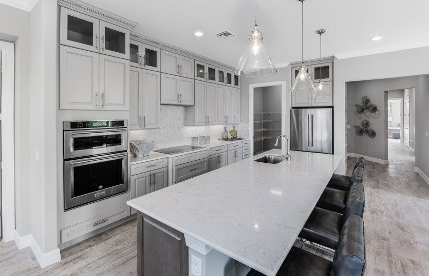 Kitchen featured in the Westgate By Pulte Homes in Palm Beach County, FL