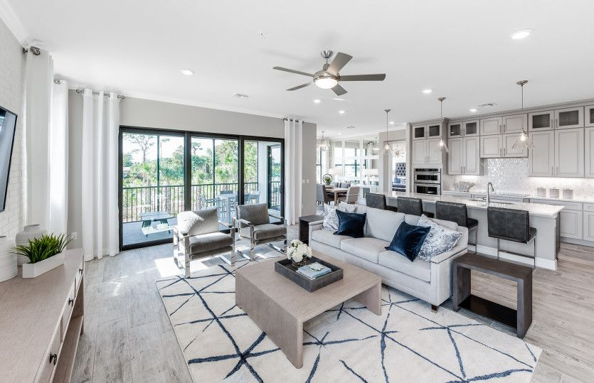 Living Area featured in the Westgate By Pulte Homes in Palm Beach County, FL