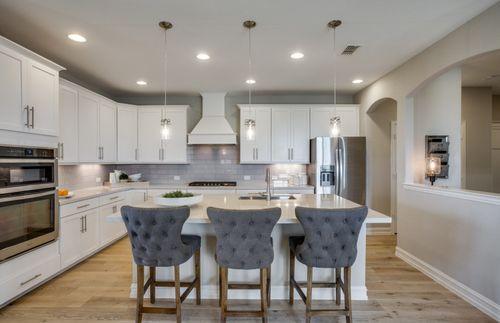 Kitchen-in-Lexington-at-Ridgemont-in-New Braunfels