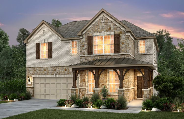 Exterior featured in the Beaumont By Pulte Homes in Dallas, TX