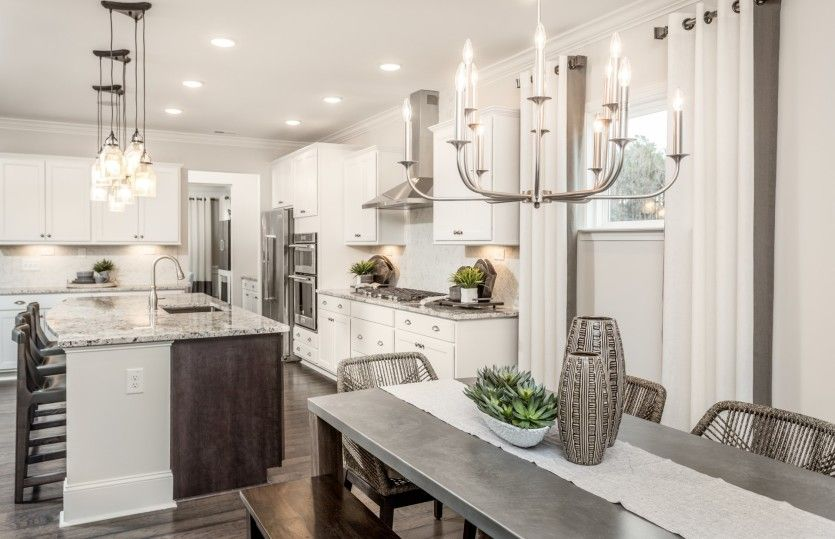 Kitchen featured in the Waterstone By Pulte Homes in Raleigh-Durham-Chapel Hill, NC