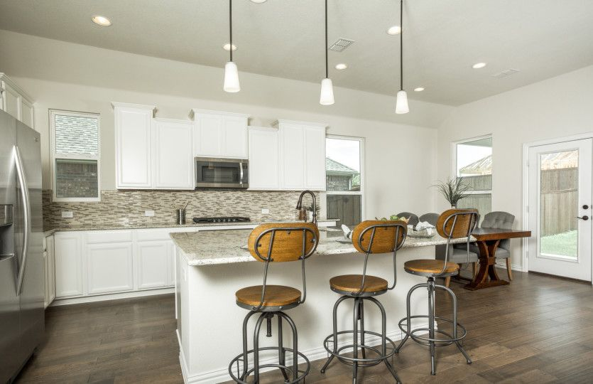 Kitchen featured in the McKinney By Pulte Homes in San Antonio, TX