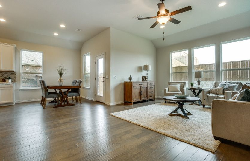 Living Area featured in the McKinney By Pulte Homes in San Antonio, TX