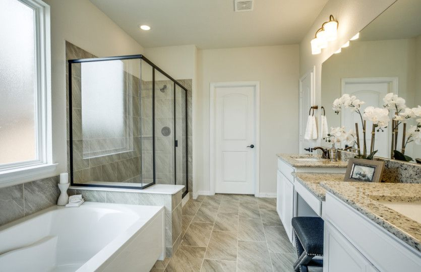 Bathroom featured in the McKinney By Pulte Homes in San Antonio, TX