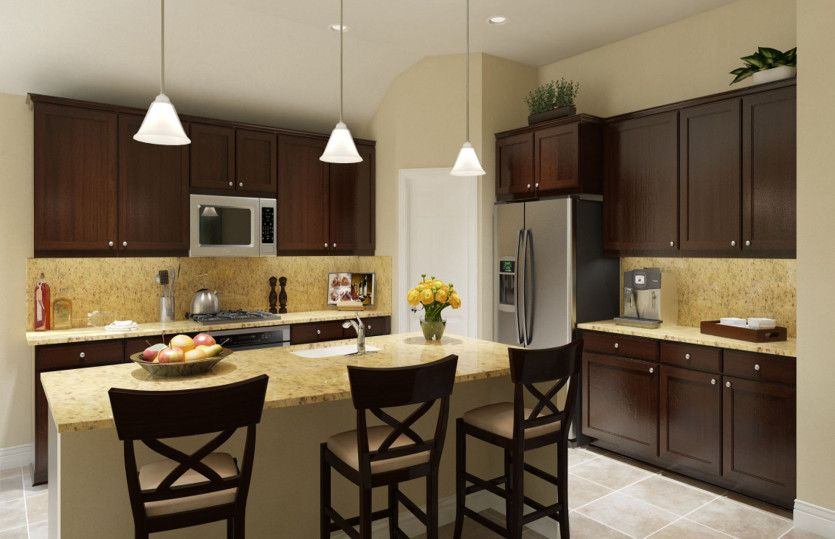 Kitchen-in-Darden-at-Arcadia Ridge- The Reserve-in-San Antonio