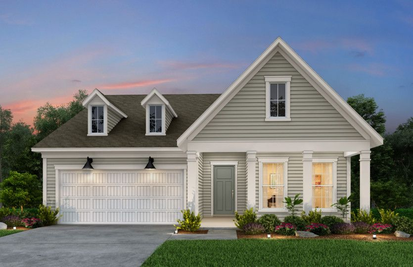 Exterior featured in the Bennett By Pulte Homes in Wilmington, NC
