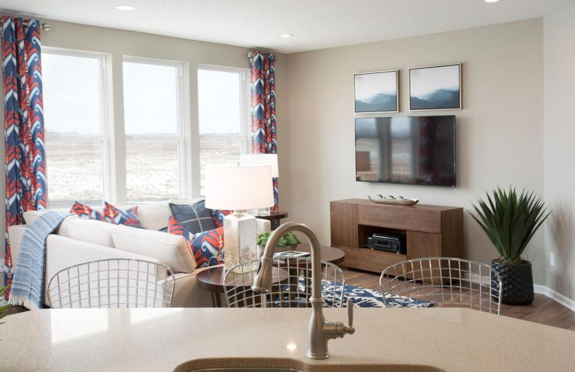 Living Area featured in the Bennett By Pulte Homes in Wilmington, NC