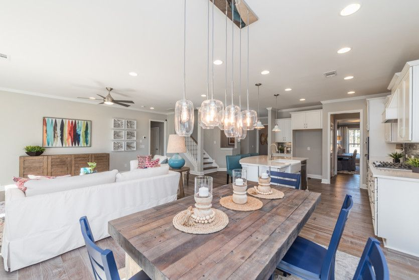 Kitchen featured in the Continental By Pulte Homes in Hilton Head, SC