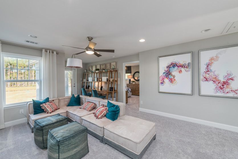 Living Area featured in the Continental By Pulte Homes in Hilton Head, SC