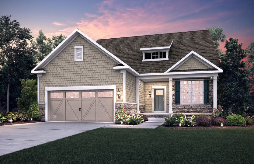 Exterior featured in the Castle Rock By Pulte Homes in Cleveland, OH
