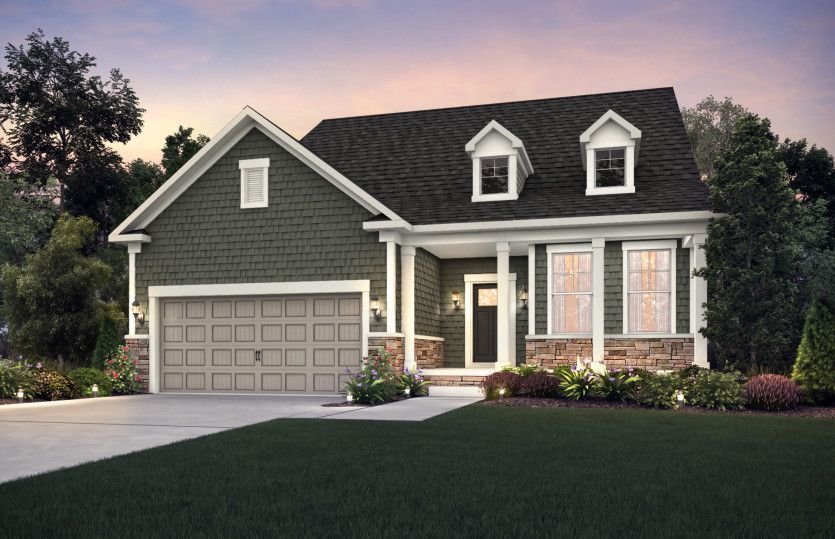 Exterior featured in the Martin Ray By Pulte Homes in Cleveland, OH