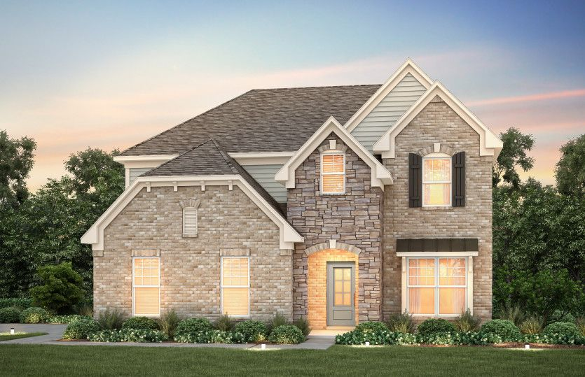 Exterior featured in the Mercer II By Pulte Homes in Nashville, TN