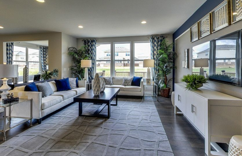 Living Area featured in the Mercer II By Pulte Homes in Nashville, TN