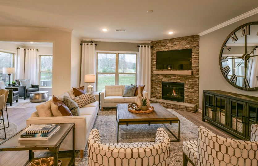 Living Area featured in the Continental II By Pulte Homes in Nashville, TN