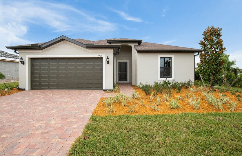 Exterior featured in the DeLand By Pulte Homes in Naples, FL