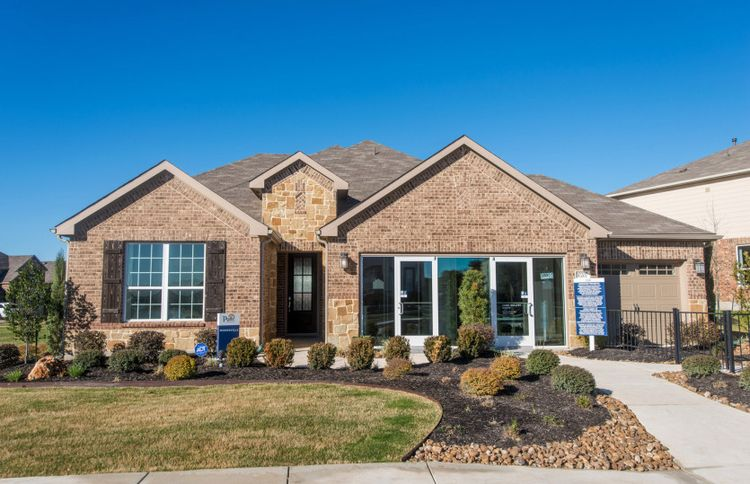 Exterior featured in the Mooreville By Pulte Homes in San Antonio, TX