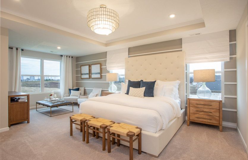 Bedroom featured in the Mercer By Pulte Homes in Cleveland, OH