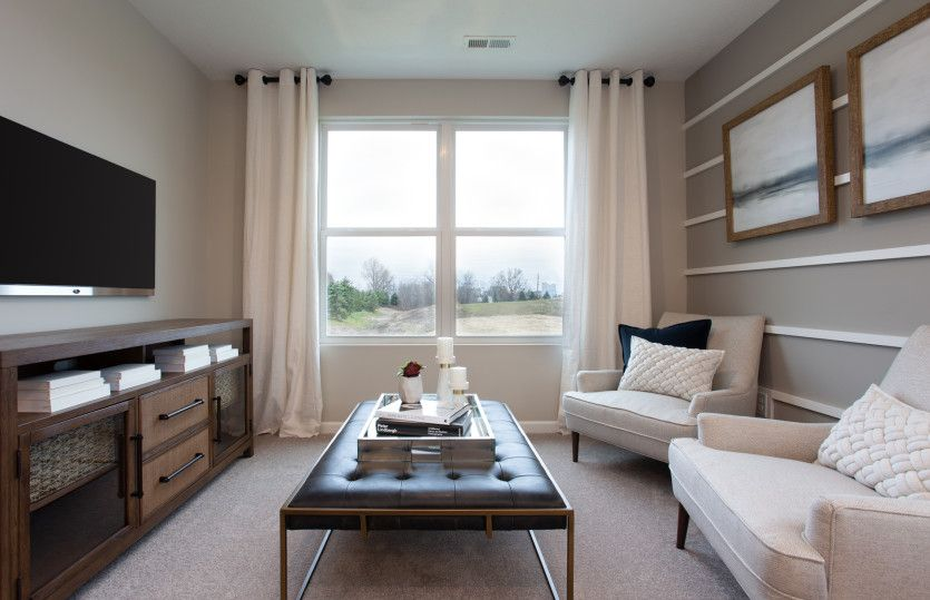 Living Area featured in the Mercer By Pulte Homes in Cleveland, OH