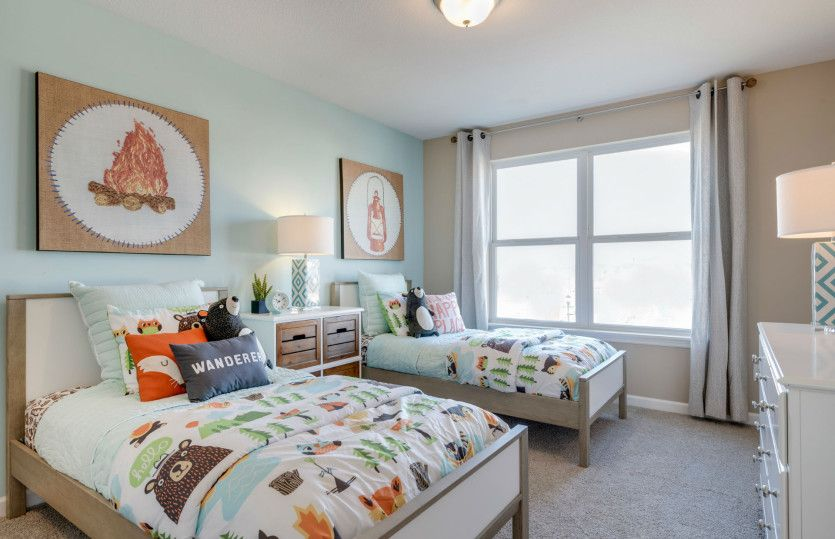 Bedroom featured in the Mercer By Pulte Homes in Minneapolis-St. Paul, MN