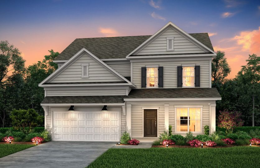 Exterior featured in the Mercer By Pulte Homes in Wilmington, NC