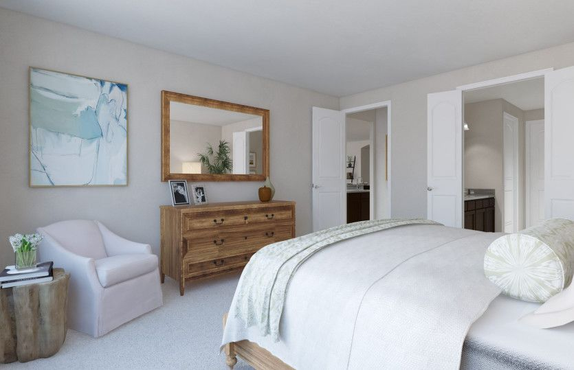 Bedroom-in-Summerwood-at-Becker Farm-in-Pflugerville
