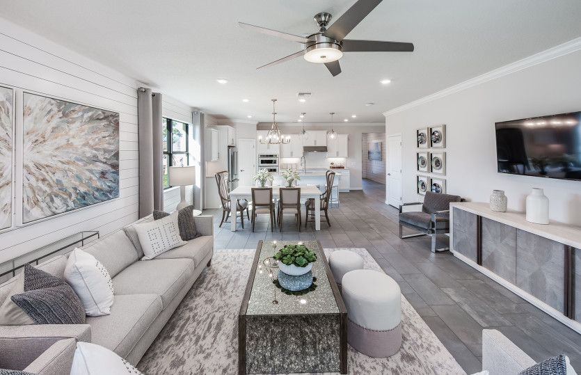 Living Area featured in the Wyndham By Pulte Homes in Broward County-Ft. Lauderdale, FL