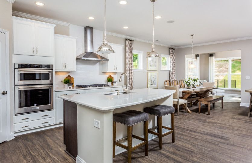 Kitchen featured in the Foxfield By Pulte Homes in Raleigh-Durham-Chapel Hill, NC