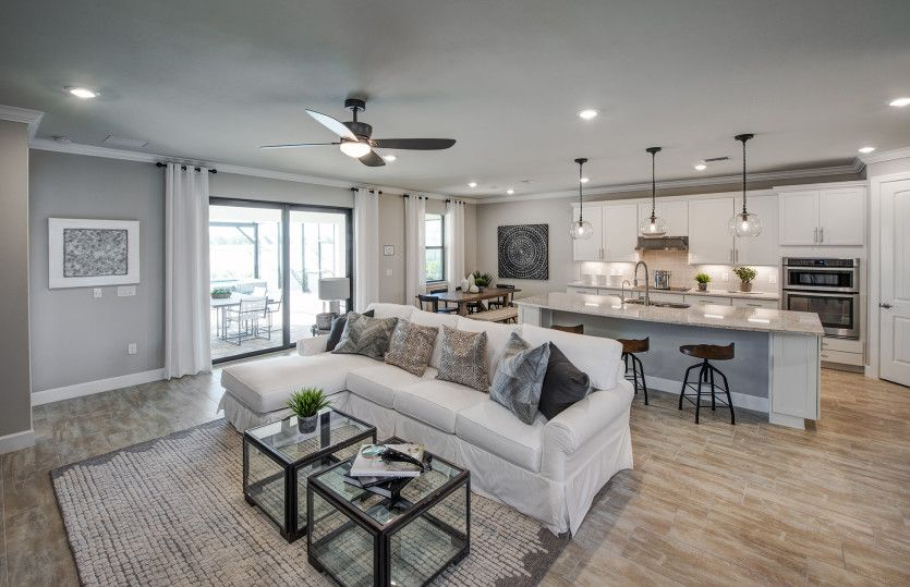 Living Area featured in the Palm Grand By Pulte Homes in Tampa-St. Petersburg, FL