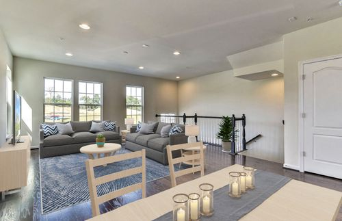 Greatroom-and-Dining-in-Parsons-at-Shipley Homestead Townhomes-in-Hanover