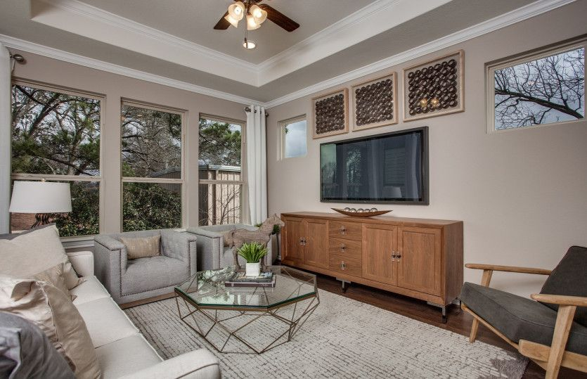 Living Area featured in the Fallbrook By Pulte Homes in Houston, TX