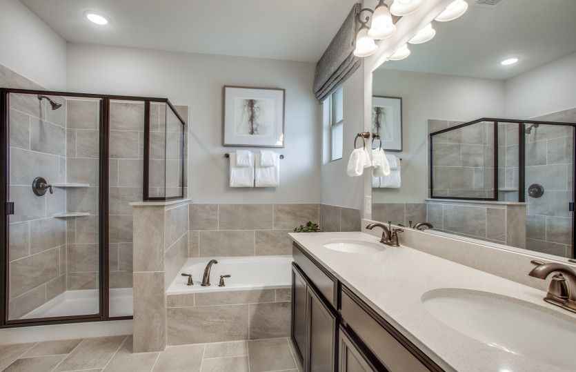 Bathroom featured in the Fallbrook By Pulte Homes in Houston, TX