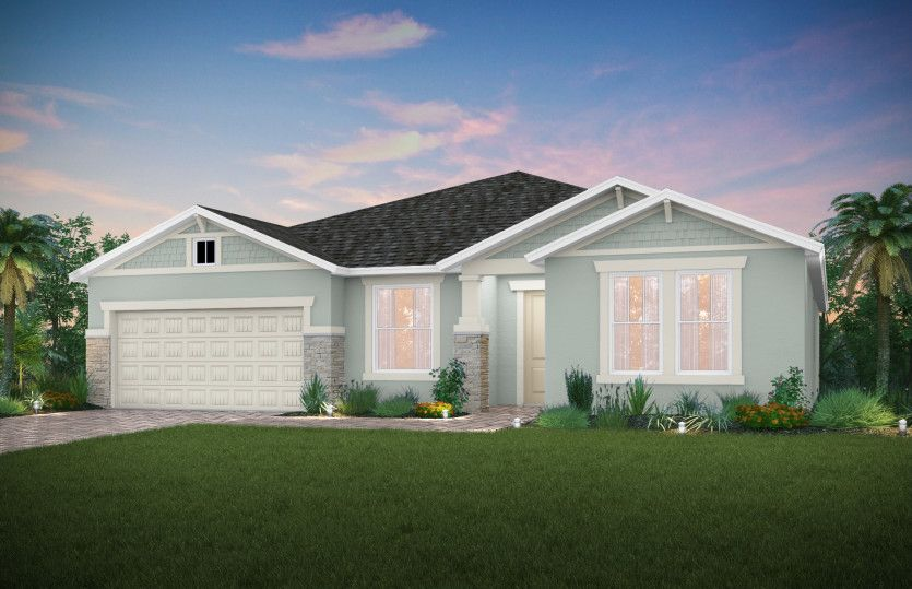Exterior featured in the Dockside By Pulte Homes in Punta Gorda, FL