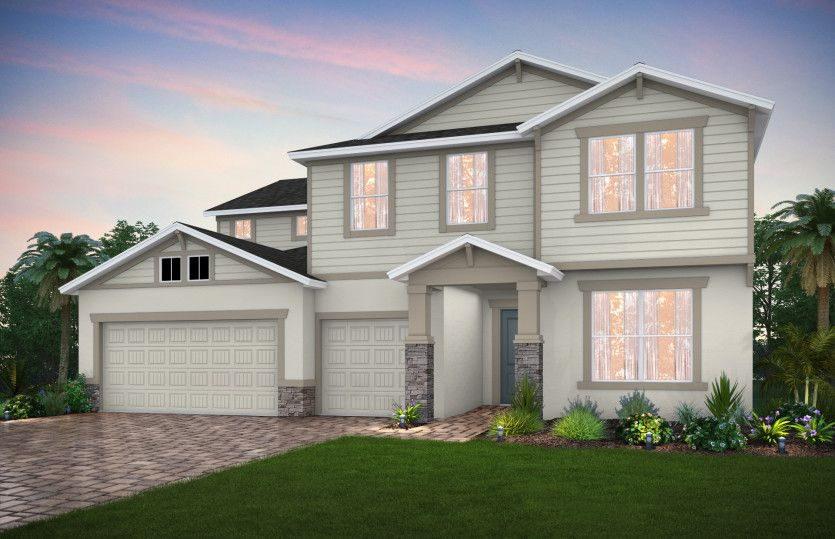 Exterior featured in the Mariner By Pulte Homes in Punta Gorda, FL