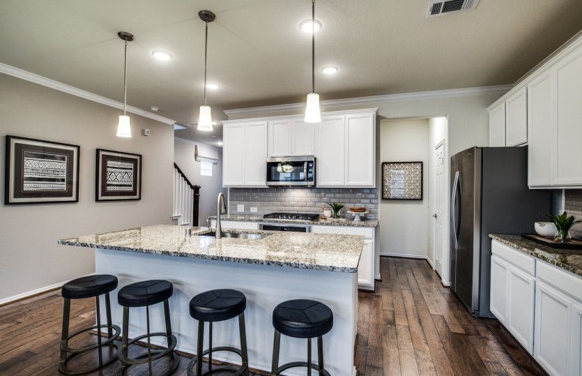 Kitchen featured in the Pinehurst By Pulte Homes in Houston, TX