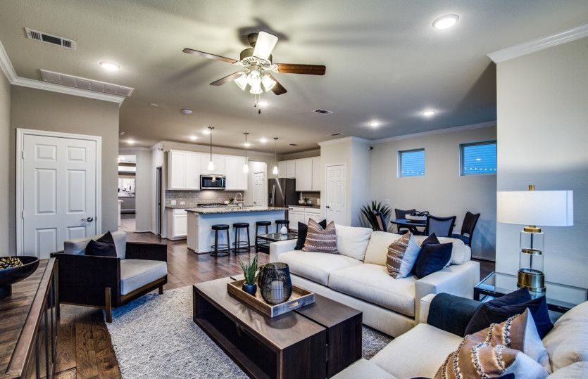 Living Area featured in the Pinehurst By Pulte Homes in Houston, TX