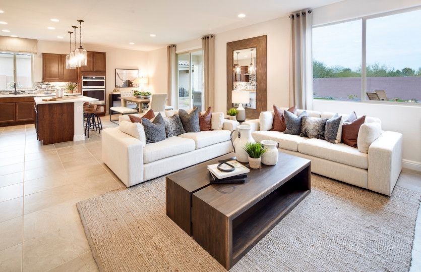 Living Area featured in the Sandalwood By Pulte Homes in Phoenix-Mesa, AZ