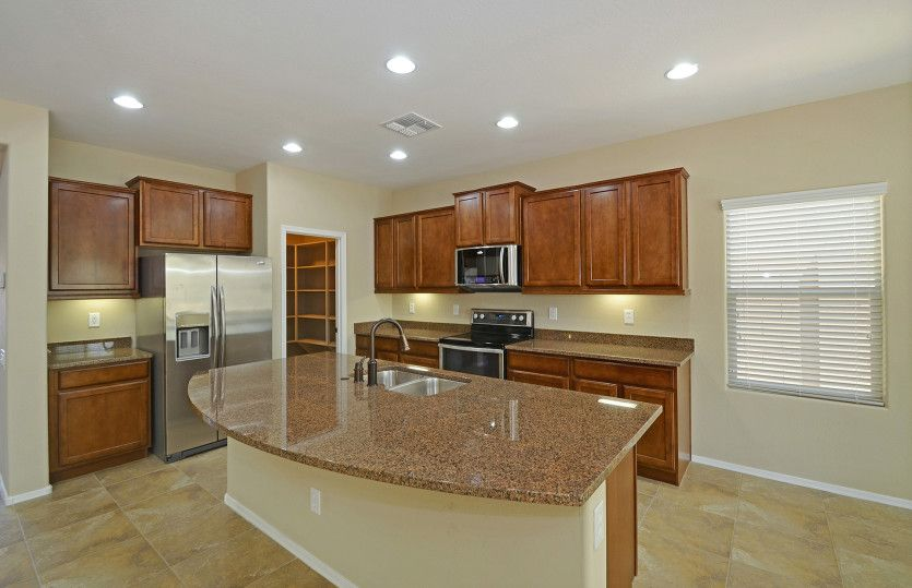 Kitchen-in-Sumac-at-Parkside at Anthem at Merrill Ranch-in-Florence